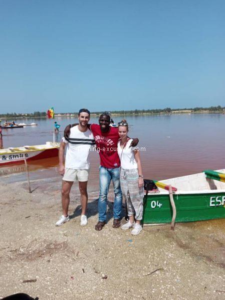 Lac Rose et dûnes Dakar